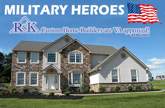 Military Heroes - R & K Custom Home Builders Are VA Approved!