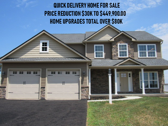 New Home Construction For Sale!